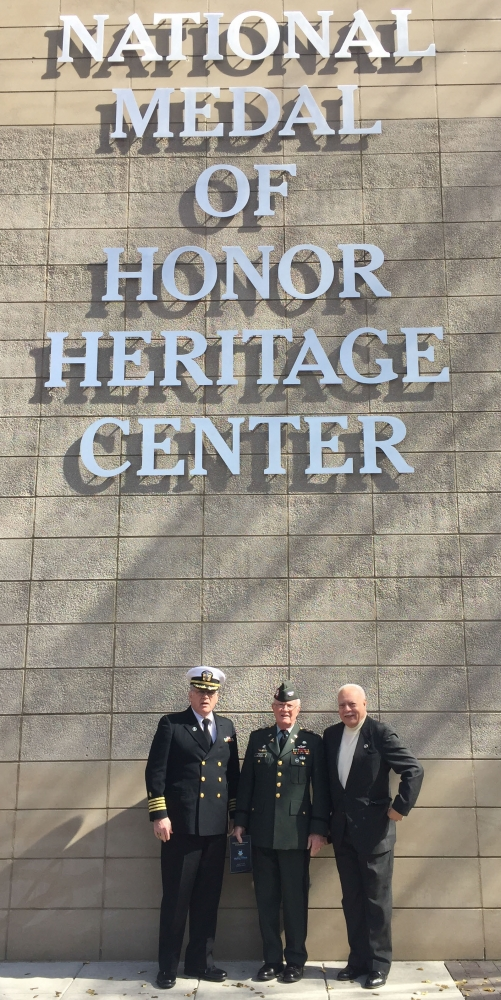 Charles H. Coolidge Medal of Honor National Heritage Center Ribbon Cutting